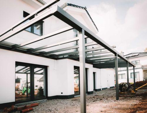 Terrassendächer: Beim Hausbau an den Garten denken!