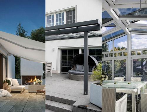 Unsere Konfiguratoren für Terrassendächer, Markisen und mehr